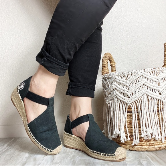 Tory Burch Shoes - Tory Burch Espadrille Wedge Shoes